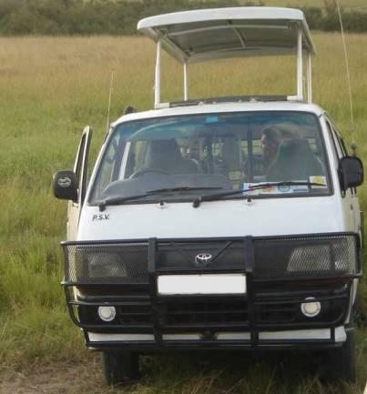 Toyota safari van